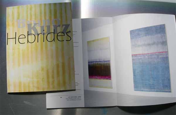 Katalog Hebrides - Bruno Kurz